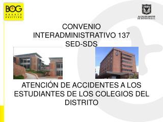 Generalidades Convenio 137