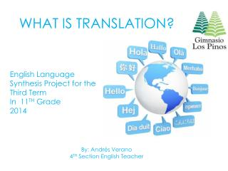 WHAT IS TRANSLATION?