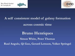 A self consistent model of galaxy formation across cosmic time