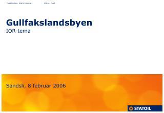 Gullfakslandsbyen