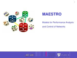 MAESTRO  Models for Performance Analysis  and Control of Networks