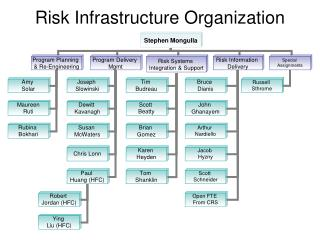 Risk Infrastructure Organization