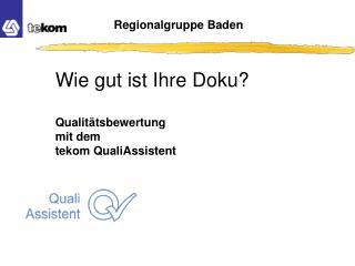 Regionalgruppe Baden