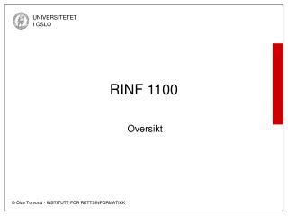 RINF 1100