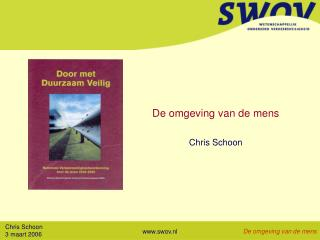 De omgeving van de mens Chris Schoon