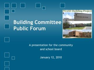 Building Committee Public Forum
