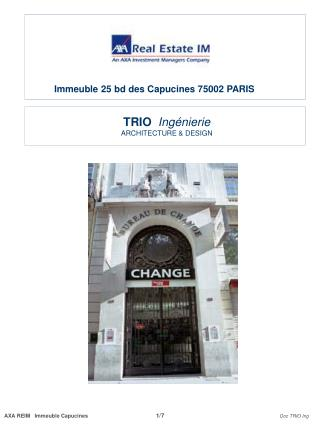 TRIO   Ingénierie ARCHITECTURE & DESIGN