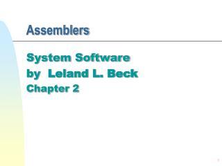 Assemblers