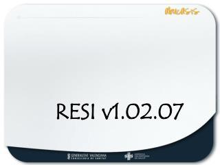 RESI v1.02.07