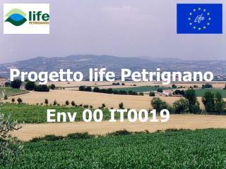 Progetto life Petrignano Env 00 IT0019