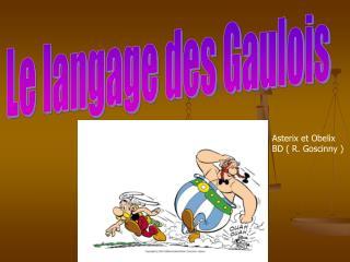 Le langage des Gaulois