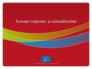 Euroopa majandus- ja sotsiaalkomitee