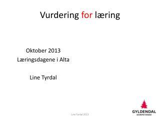 Vurdering  for  l�ring