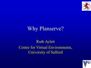 Why Planserve?