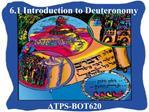 6.1 Introduction to Deuteronomy