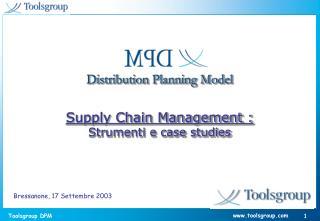 Distribution Planning Model