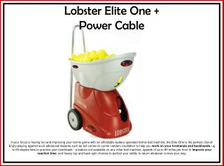 Lobster Elite One + Power Cable