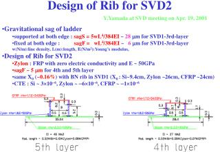 Design of Rib for SVD2