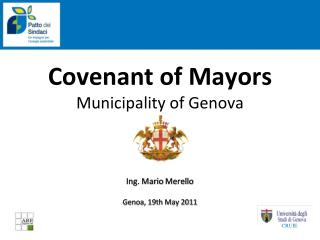 Covenant of Mayors Municipality of Genova