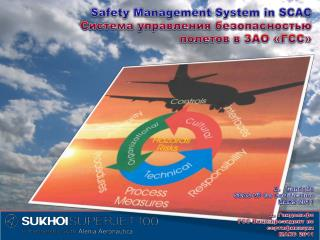Safety  Management System in SCAC Система управления безопасностью полетов в ЗАО «ГСС»