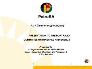An African energy company