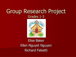 Group Research Project Grades 1-3