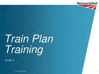 Train Plan Training