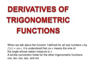 When we talk about the function  f  defined for all real numbers  x  by