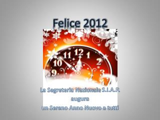 Felice 2012