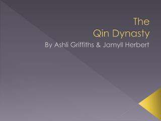 The Qin Dynasty