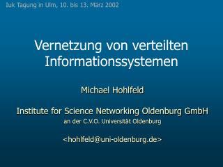 Vernetzung von verteilten Informationssystemen