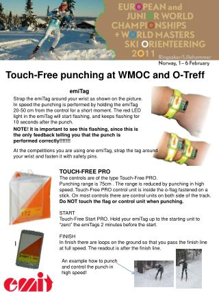 Touch-Free punching at WMOC and O-Treff