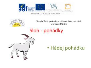 Sloh - poh�dky