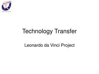 Technology Transfer