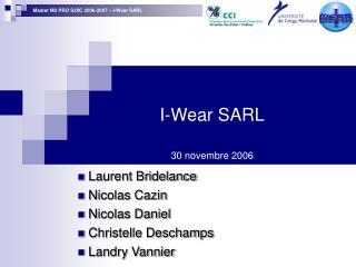 I-Wear SARL