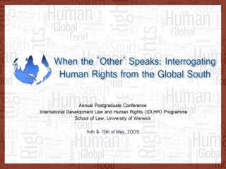 Introductory Plenary Session Prof.  Boaventura  de Sousa Santos , University of Coimbra,  Portugal