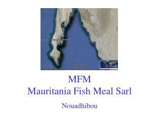 MFM Mauritania Fish Meal Sarl