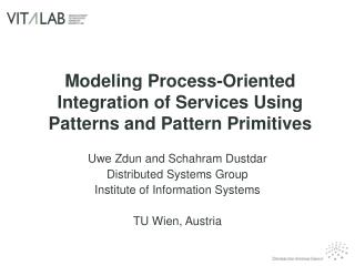 Modeling Process-Oriented Integration of Services Using Patterns and Pattern Primitives