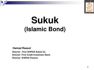 Sukuk (Islamic Bond)
