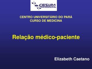 Relação médico-paciente