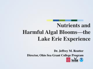 Nutrients and  Harmful Algal Blooms—the  Lake Erie Experience