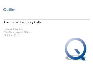 The End of the Equity Cult?