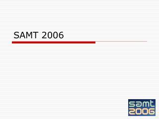 SAMT 2006
