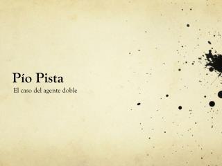 Pío Pista