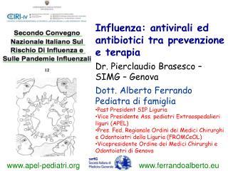 Dott. Alberto Ferrando Pediatra di famiglia Past President SIP Liguria