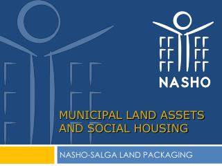 MUNICIPAL LAND ASSETS AND SOCIAL HOUSING