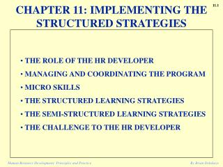 Human Resource Development: Principles and Practice