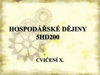 HOSPOD�?SK� D?JINY  5HD200