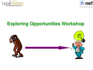 Exploring Opportunities Workshop