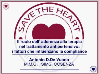 Antonio D.De Vuono  M.M.G.   SIMG  COSENZA